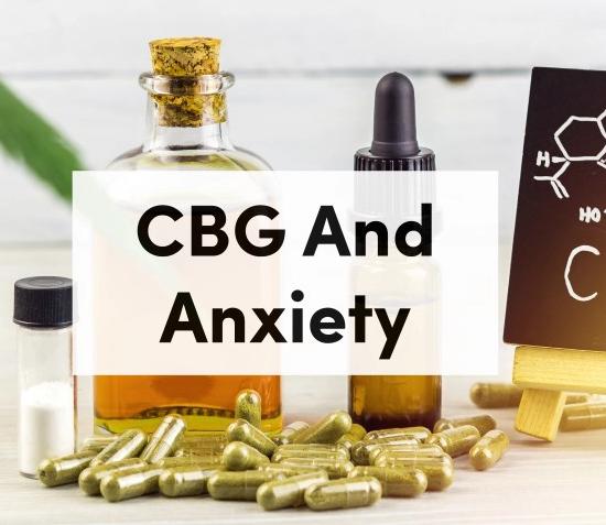 Anxiety Oil Cbg For